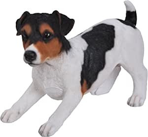 Vivid Arts Jack Russell Tricolour Resin Dog