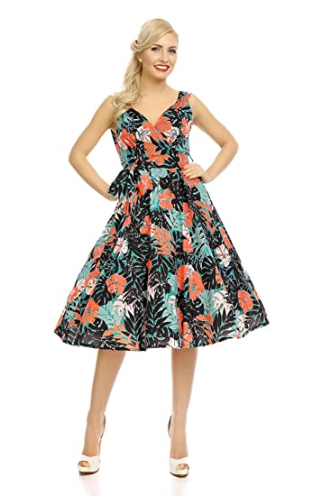 Looking Glam Womens 50s Pin up Dresss Marilyn