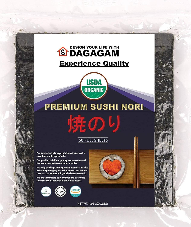Best Sushi Nori Seaweed Top 10 Sushi Making Kit
