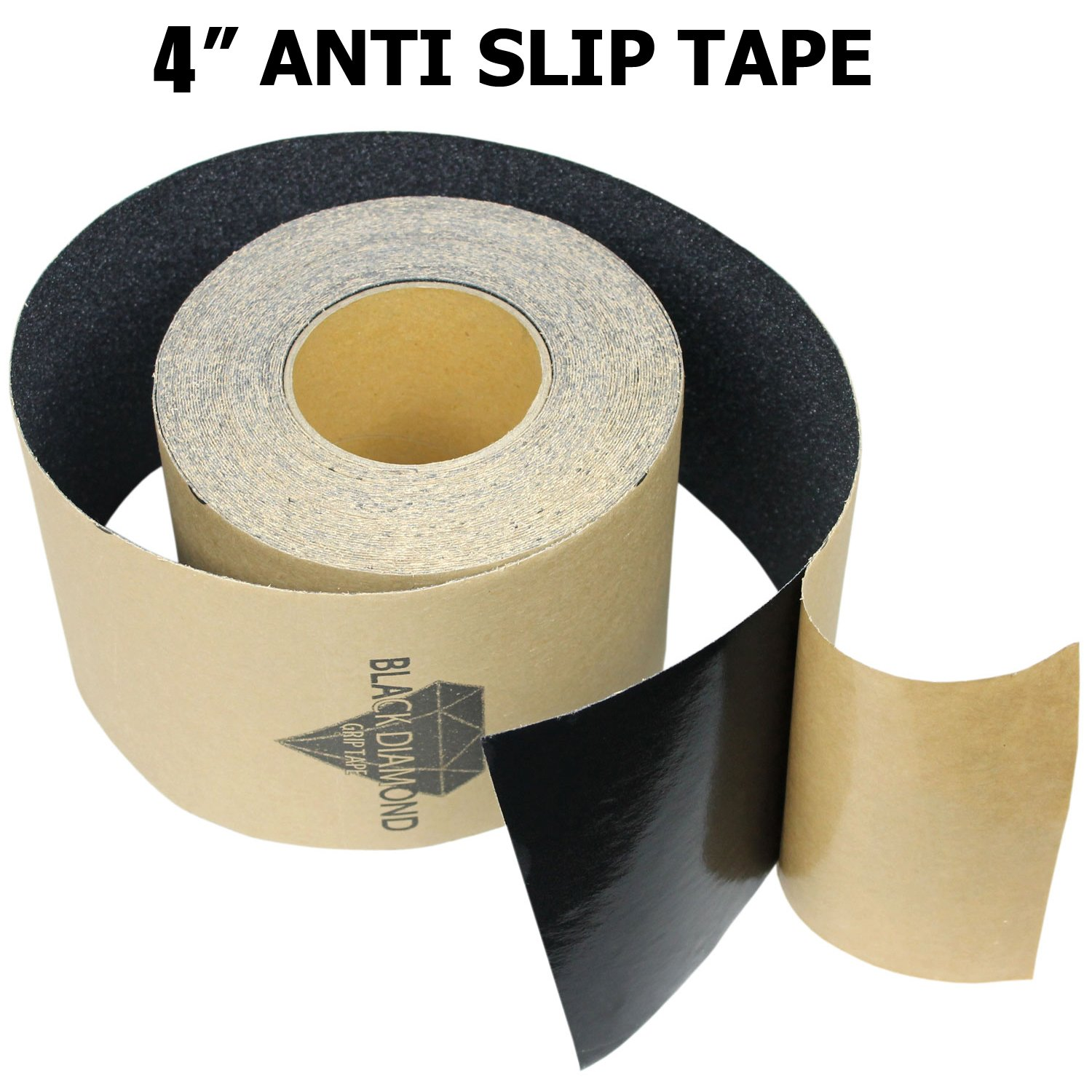 20 30 Anti Slip Traction Tape Black Yellow Roll Safety Non Skid Self Adhesive Silicon Carbide Sticky Grip Safe Grit 4 x 10