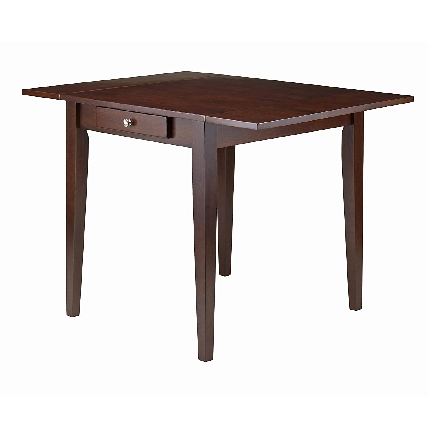 Winsome Wood 94141 Hamilton Dining, Antique Walnut