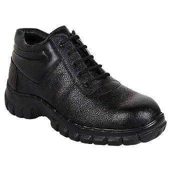 Men. Pure Leather PU Sole Industrial