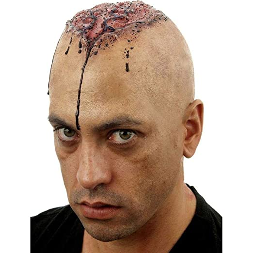 d90562aed92 Woochie Classic Bald Caps - Professional Quality Halloween Costume Makeup -  Thinking