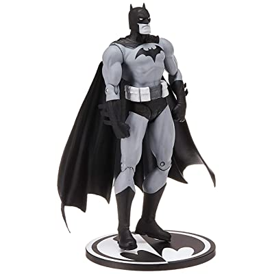 Entertainment Earth Batman Black and White Hush by Jim Lee Action Figure: Toys & Games