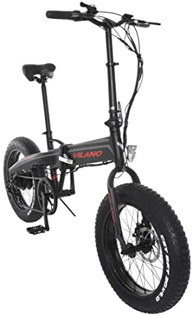 Vilano neutrón eléctrica grasa bicicleta plegable, ruedas de 20 pulgadas