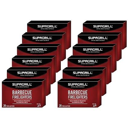Supagrill Barbacoa Firelighters Safe Odourless Instant para estufas parrillas campanas