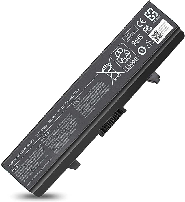 X284G 6 Cells Li-ion Battery Compatible with Dell Inspiron 1545 1440 PP29L PP41L 1525 1526 1546 1750 Series, Vostro 500, GP952 M911G GW240 K450N G555N J399N RN873 0F972N G558N C601H 312-0625 312-0844