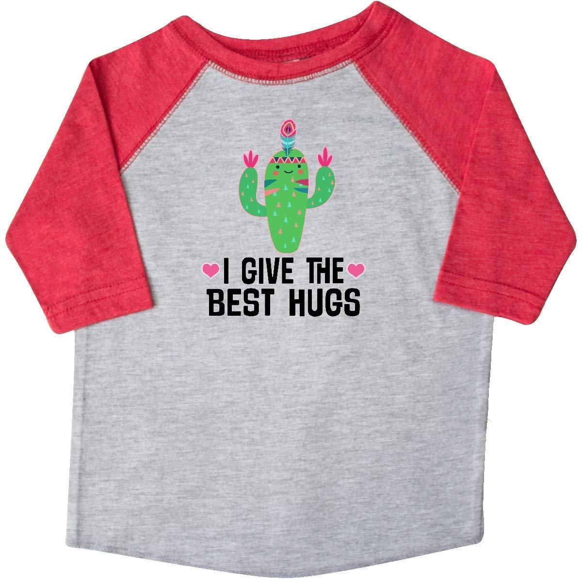 inktastic Cactus Cute Girls Best Hugs Toddler T-Shirt