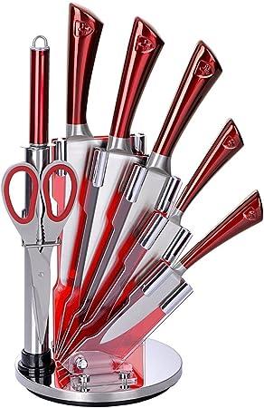 Royalty Line RL-KSS 5 piezas Juego de cuchillos + soporte + ...