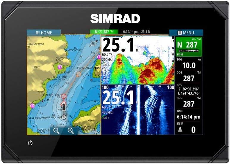 Dispositivo Multifunción Simrad Go7 Xse con Posterior del Transmisor (Exploración Total) Buscador De Los Pescados: Amazon.es: Electrónica