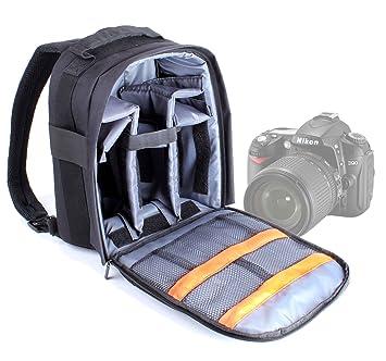 DURAGADGET Mochila Ajustable con Compartimentos para Cámara Nikon ...