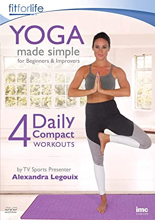 Yoga Made Simple - 4 Daily Compact Workouts - for Beginners ...