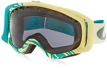 oakley ski goggles crowbar  Amazon.com : Oakley Crowbar Ski Goggles, Animalistic Turquoise ...