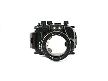 carcasa submarina para cámara Olympus E-M10 14mm- 42mm Lente - Carcasa acuática para cámaras