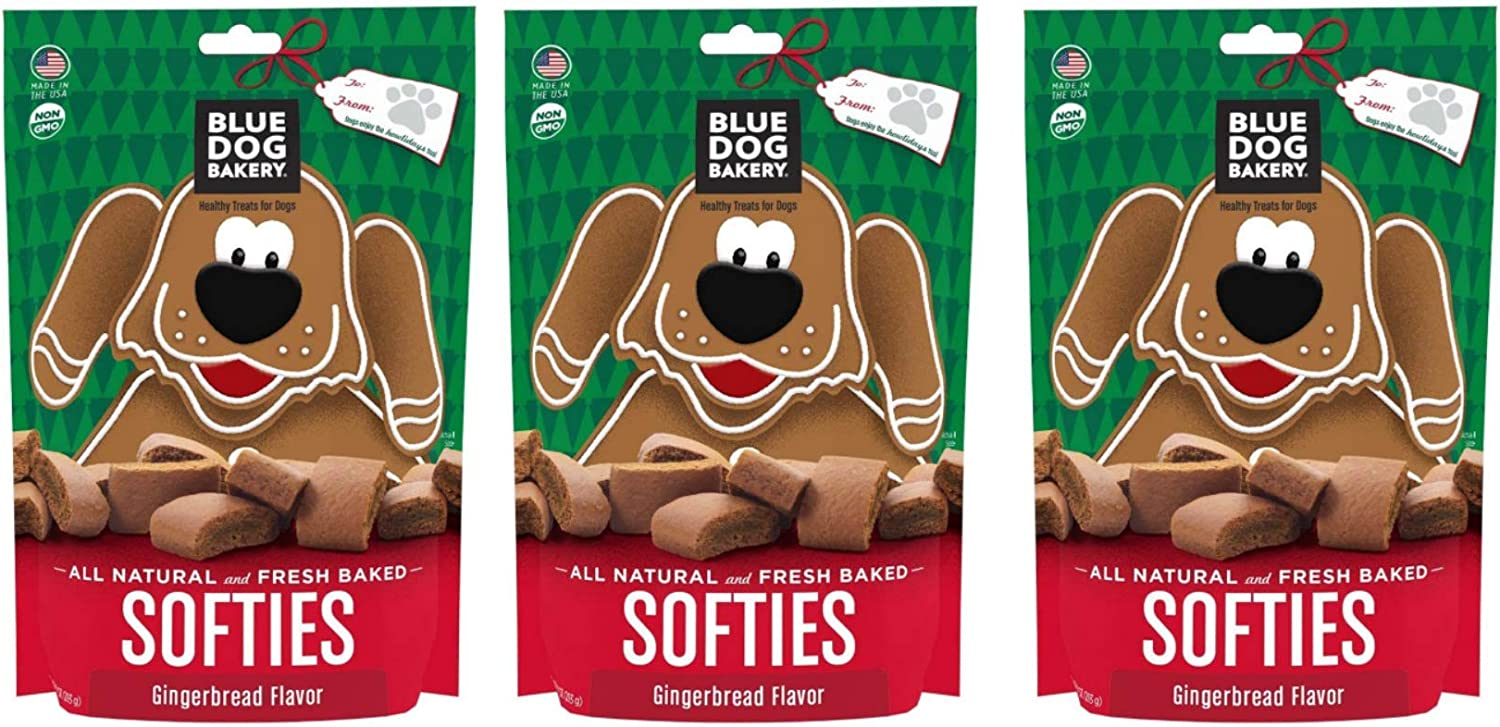 Blue Dog Bakery Gingerbread Softies Made with all natural, thoughtful ingredients for a healthy treat!
