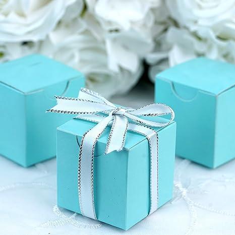 Amazon.com: BalsaCircle 100 cajas de recuerdos de boda de 2 ...