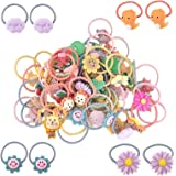 AUXIN 30 pcs Mix Colors Baby Elastic Hair Ties for Cute Girls Infants Toddlers Kids and Children,Soft Rubber Hair Bands…