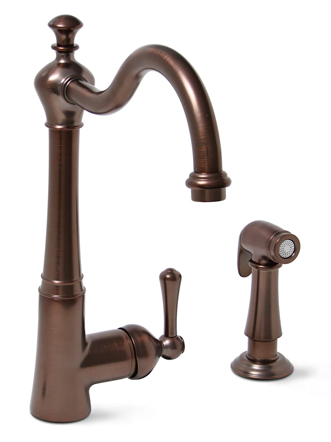 Premier 120026LF Sonoma Lead-Free Single-Handle Kitchen Faucet with ...