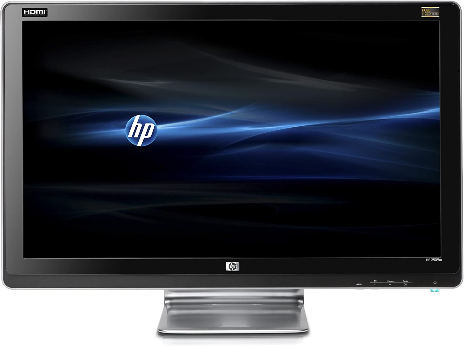 HP 2509m 25-Inch Diagonal Full HD LCD Monitor (Black)