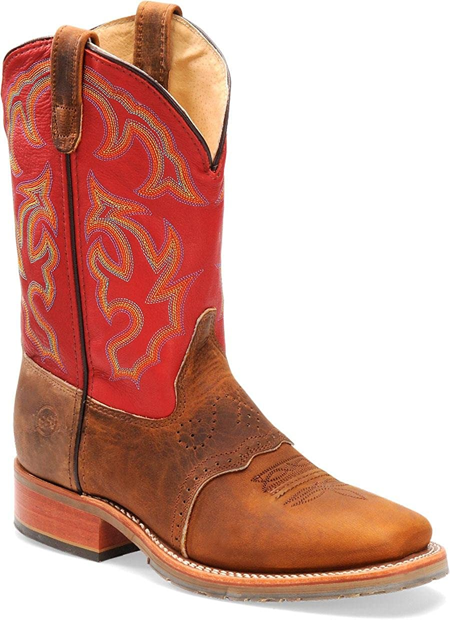 [Double-H Boots] ダブルHメンズ10インチdh3560 Wide Square Ice Roper 11-D ライトブラウン B00274MP5U