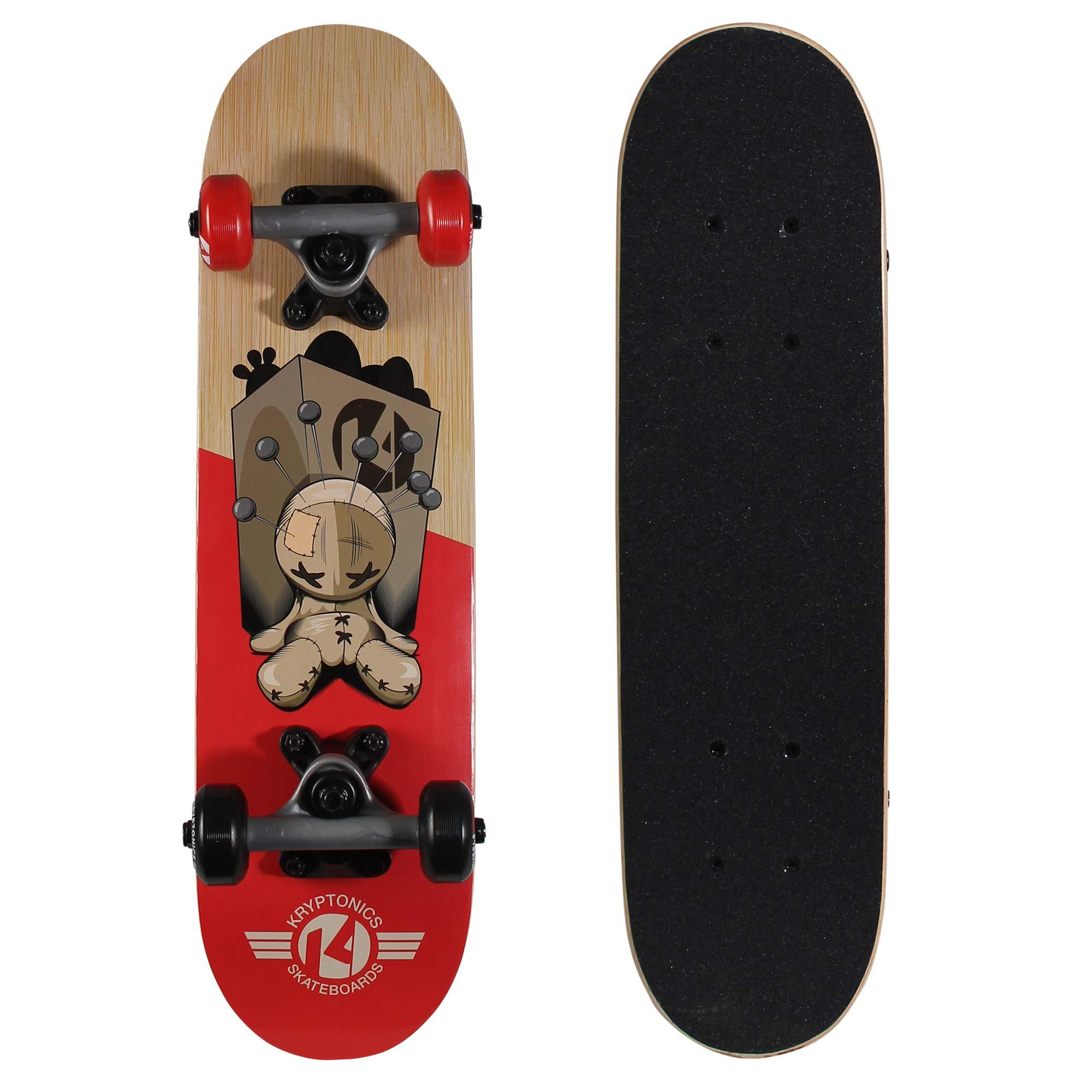Kryptonics Locker Board 22 Inch Complete Skateboard - Pin-Head