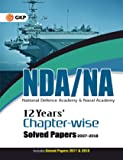 12 Years NDA/NA Chapter-wise Solved Papers (2007-2018) 2018