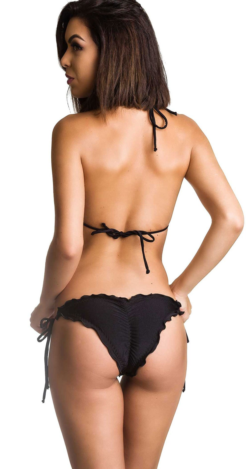 8dd56fc3a23 Coqueta Swimwear Women Brazilian Bikini Scrunch Set Wavy Sexy Teeny Swimsuit  Skimpy