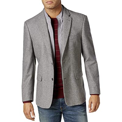 Tommy Hilfiger Men's Rufus Vested 2 Button Sport Coat at Amazon Men's Clothing store