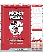Grupo Erik Editores - Disney Calendario Familiar Planificador 2018/2019, 21.5 x 32.5 cm