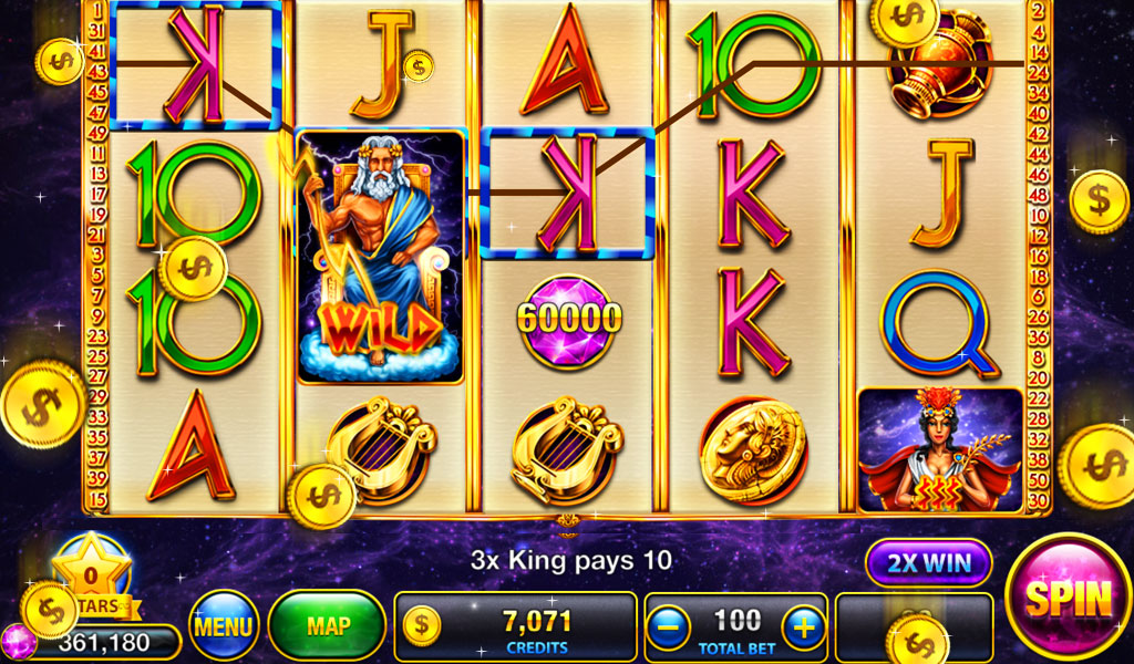 Casino Slots Zeus