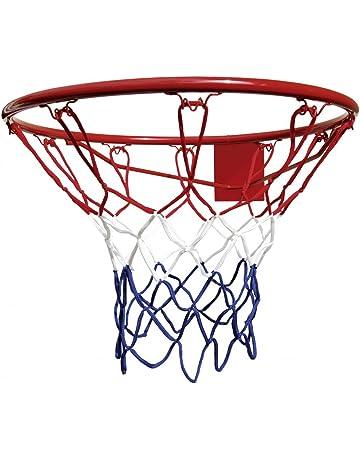 Canasta de Baloncesto de aro de Baloncesto de 9.84con Red para Todo Clima para Juegos de Baloncesto para ni/ños aro de Baloncesto Colgante Ecisi Soporte de Baloncesto montado en la Pared