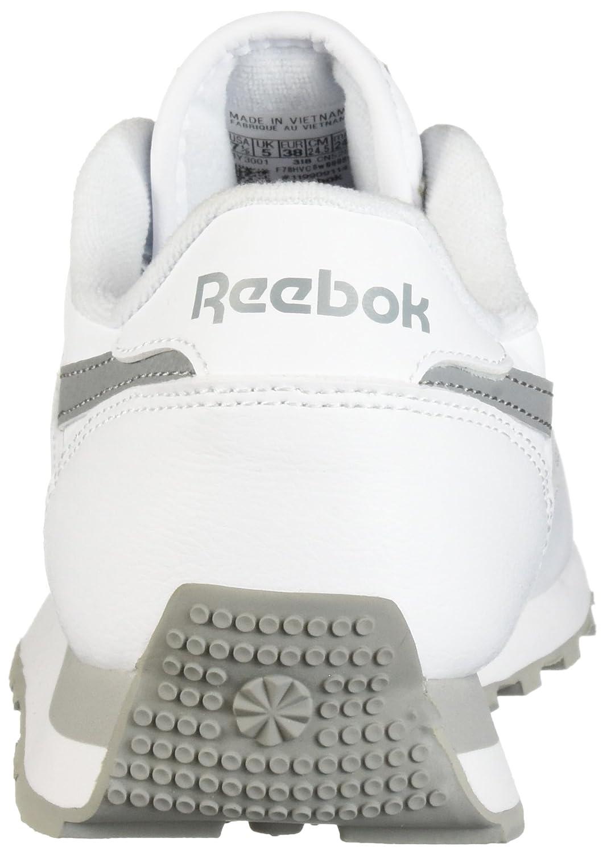 Reebok Women's Classic Renaissance Walking Shoe B077Z6LFM9 8 B(M) US|Us-white/Flat Grey