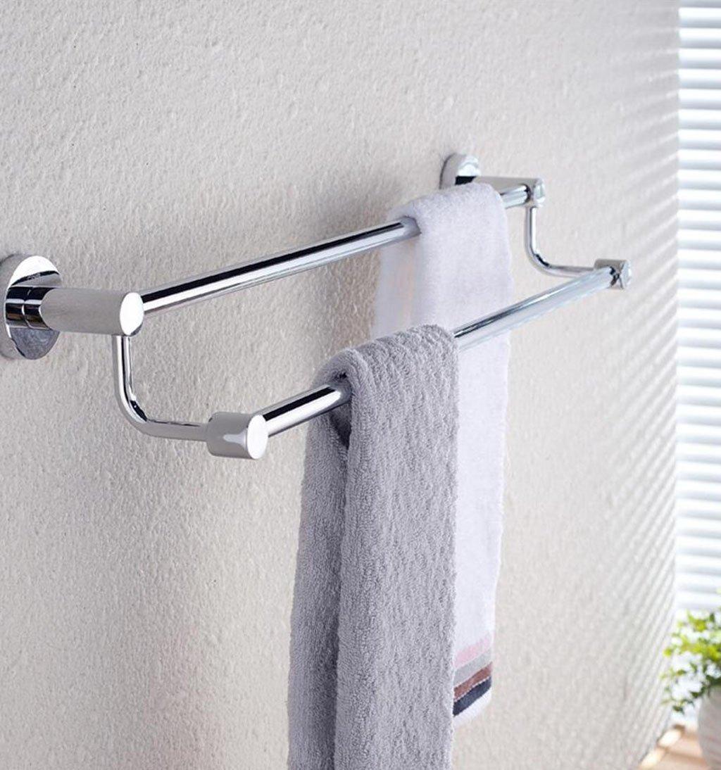 FACAIG Toalla toallero Estante toallero toallero toallero de Acero Inoxidable  Perforado para Colgar en Pared toallero Toallero de Acero Inoxidable (Tamaño : 50cm) e5b65d