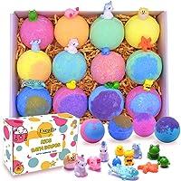 Kids Bath Bombs with Surprise Toys Inside - Bubble Bath Fizzies Vegan Essential...