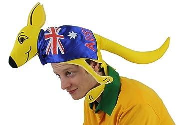 I Love Fancy Dress, sombrero para los aficionados del canguro australiano ILFD2018, una talla apta para la mayoría de la gente.