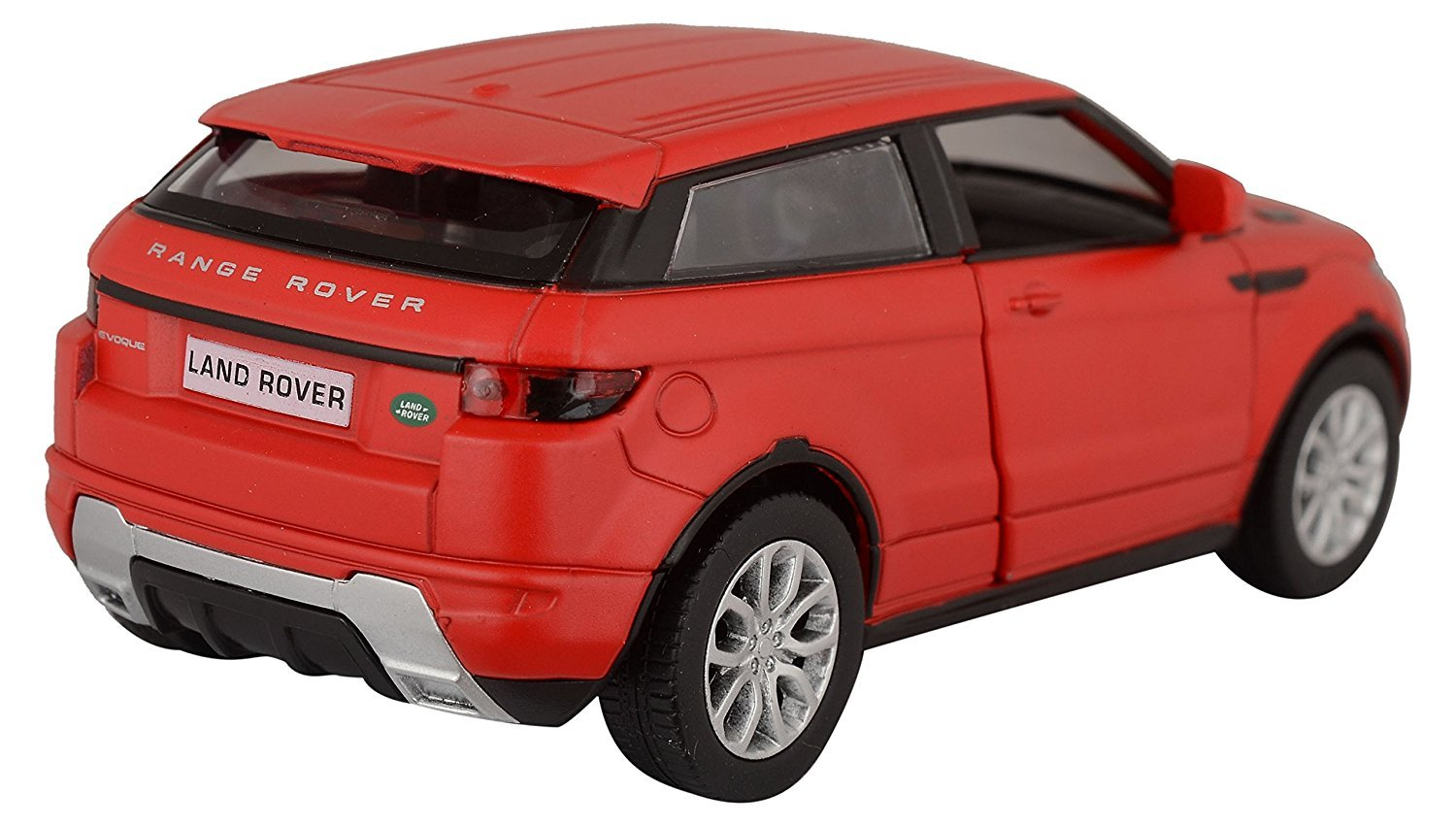 Rmz City Die Cast Range Rover Evoque, Matte Red (5-inch) (Color May Vary)