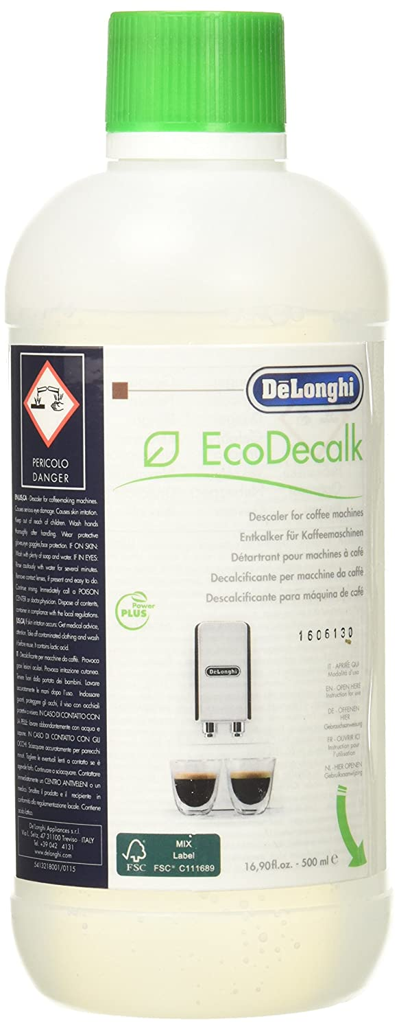 Amazon.com: DeLonghi EcoDeCalk Natural Coffee Descaler Large: Home Improvement