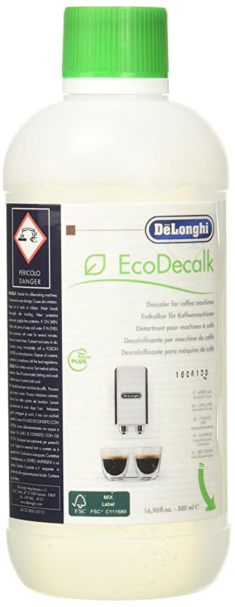 DeLonghi EcoDeCalk Natural Coffee Descaler Large