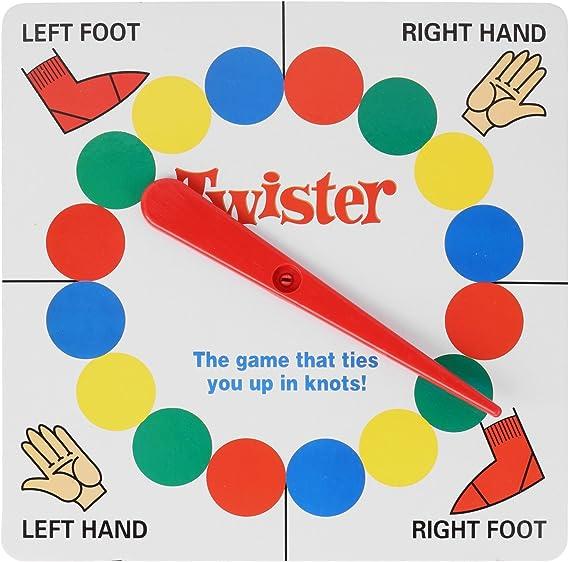 Arshiner Juego de Twister Juego de Equilibrio Juego para Amigos y Familia: Amazon.es: Ropa y accesorios