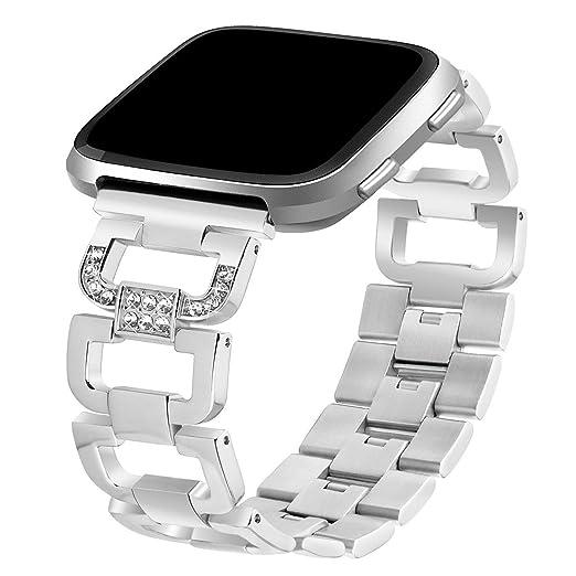 TOOGOO Aplicable a bandas Fitbit Versa, pulseras de repuesto pulseras para Fitbit Versa reloj deportivas