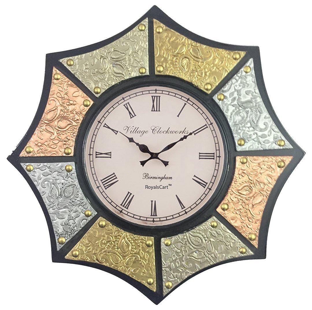 RoyalsCart Asthkon Analog Wall Clock