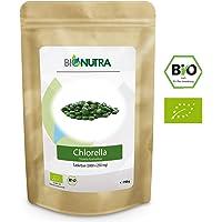 BioNutra Chlorella-Presslinge membrangebrochen 750 g, 3000 x 250 mg Tabletten, 100% rein & natürlich, rückstandskontrolliert, nach EU-ÖKO-Standard kultiviert und hergestellt