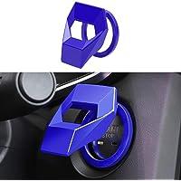 Ramecar - Cubierta protectora del botón de arranque del motor, tapa de encendido del botón de arranque