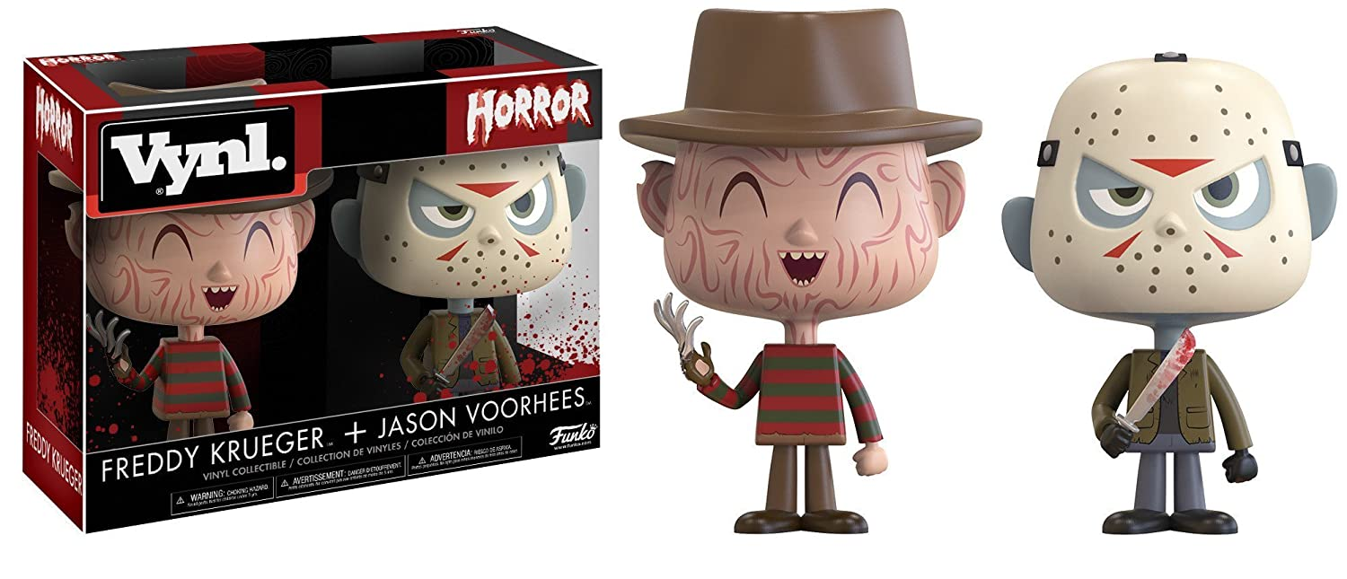 Funko Vynl Horror-Freddy /& Jason Collectible Figures 20911 Accessory Toys /& Games