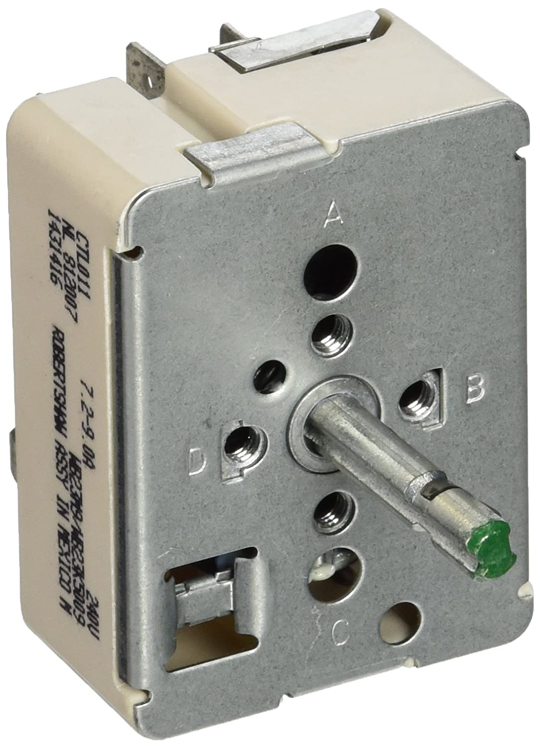 Amazon.com: General Electric WB23M9 Surface Element Switch: Home ...