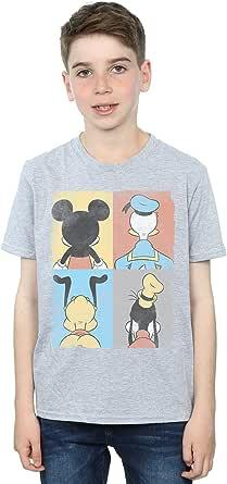 Disney niños Mickey Mouse Four Backs Camiseta