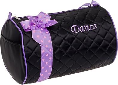 Amazon.com: Silver Lilly - Bolsa de danza acolchada con lazo ...