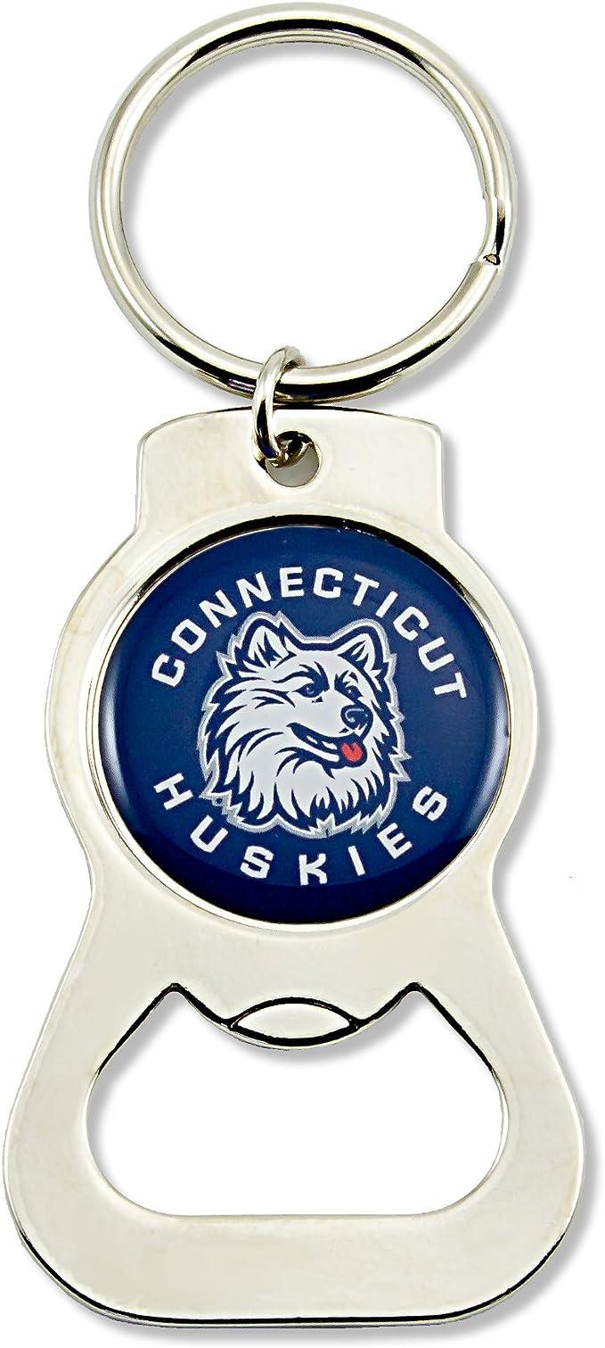 Aminco Ncaa Connecticut Huskies Flaschenöffner Schlüsselanhänger Sport Freizeit