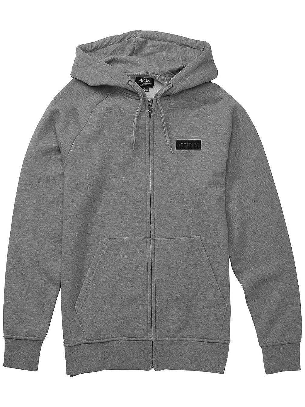 Etnies Zip-Hoody Core Icon Grau Gr. L