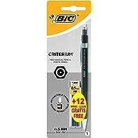 BIC Criterium - Portaminas (0.5 mm HB), apto para dibujo técnico o uso normal, blíster de 1 bolígrafo y 1 estuche de 12…